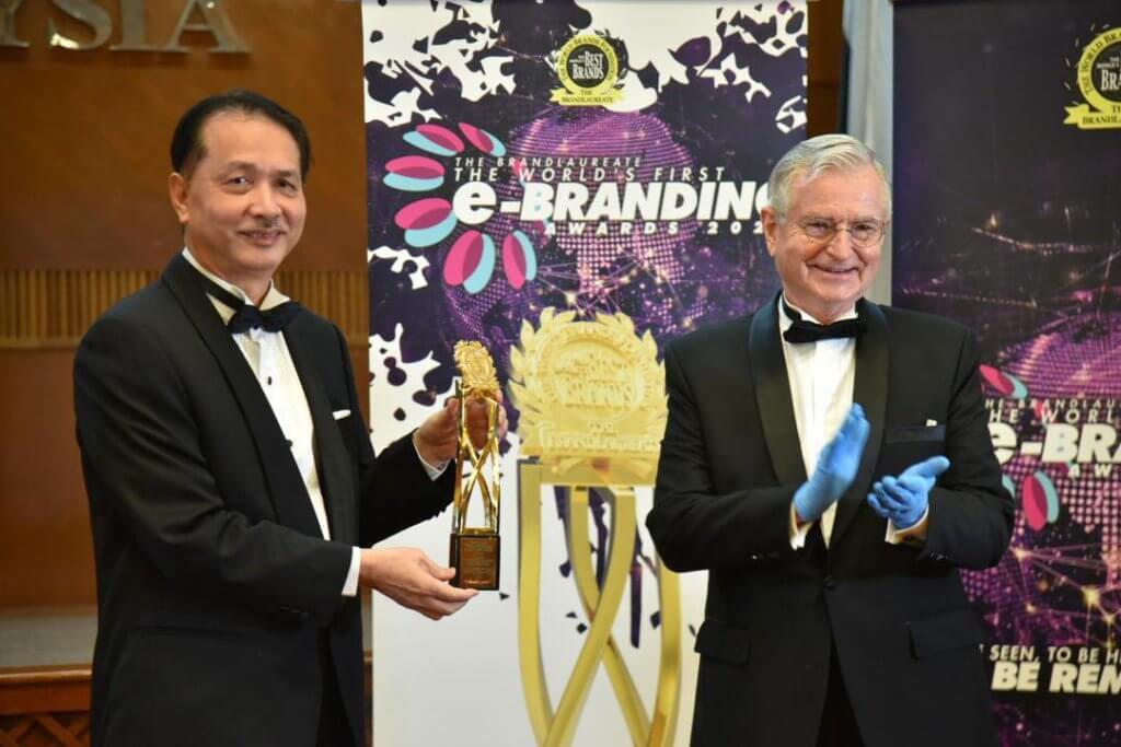 KKM Menang Anugerah Jenama Dunia BrandLaureate 2020, Tahniah!