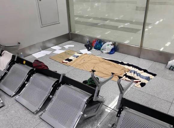 Sejak 20 Mac, Lelaki Ini Terkandas Di Lapangan Terbang Selama 100 Hari Kerana COVID-19