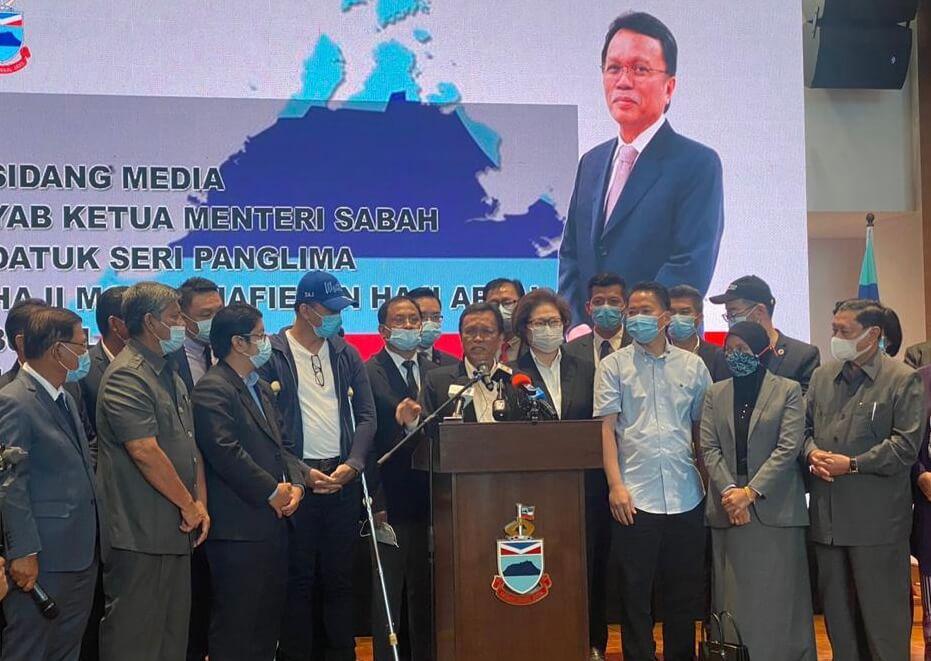 Shafie Apdal Umum Bubarkan DUN Sabah, Kembalikan Mandat Kepada Rakyat