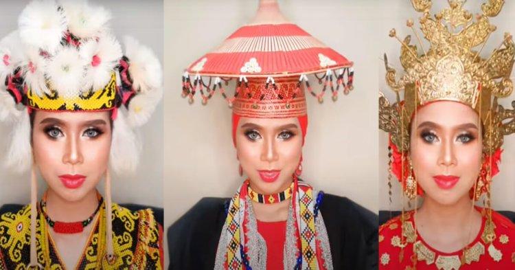 Kumpulan Ini Tampil Kreatif Dengan Lathi Challenge, Promosikan Pakaian Tradisional Sarawak