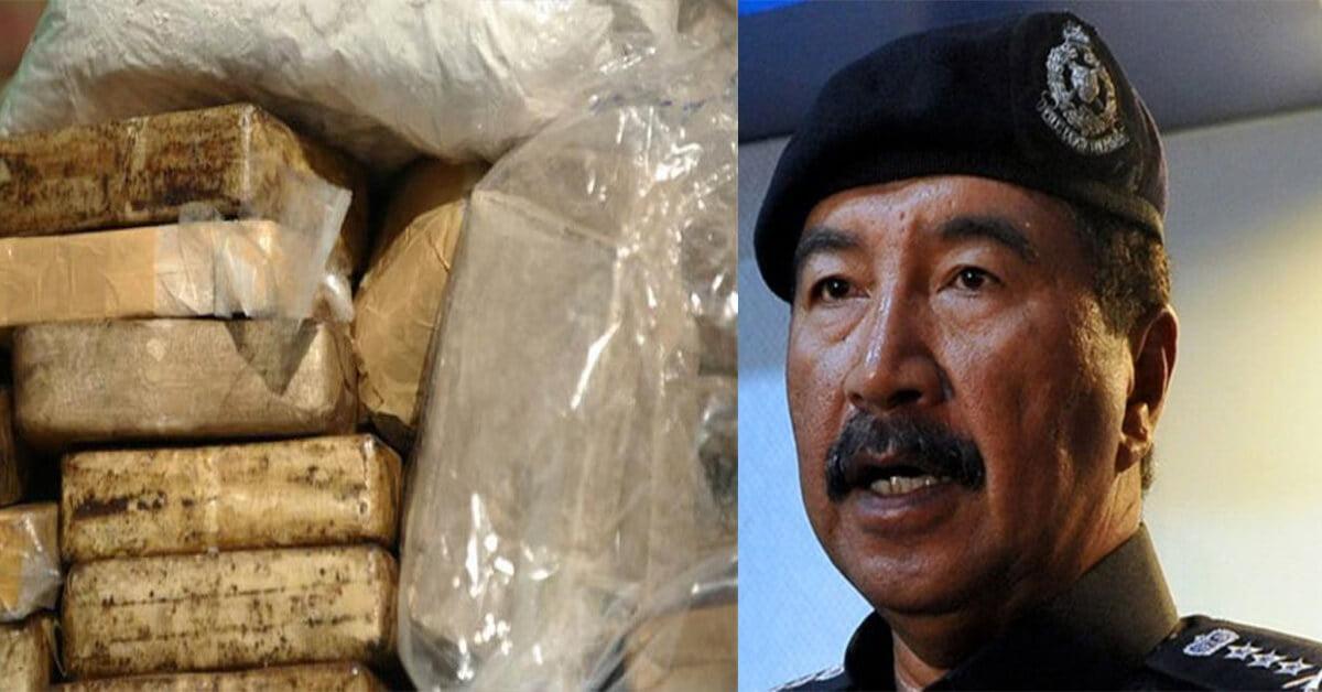 2 Polis Di Sarawak Jadi Dalang Sindiket Dadah Terbesar