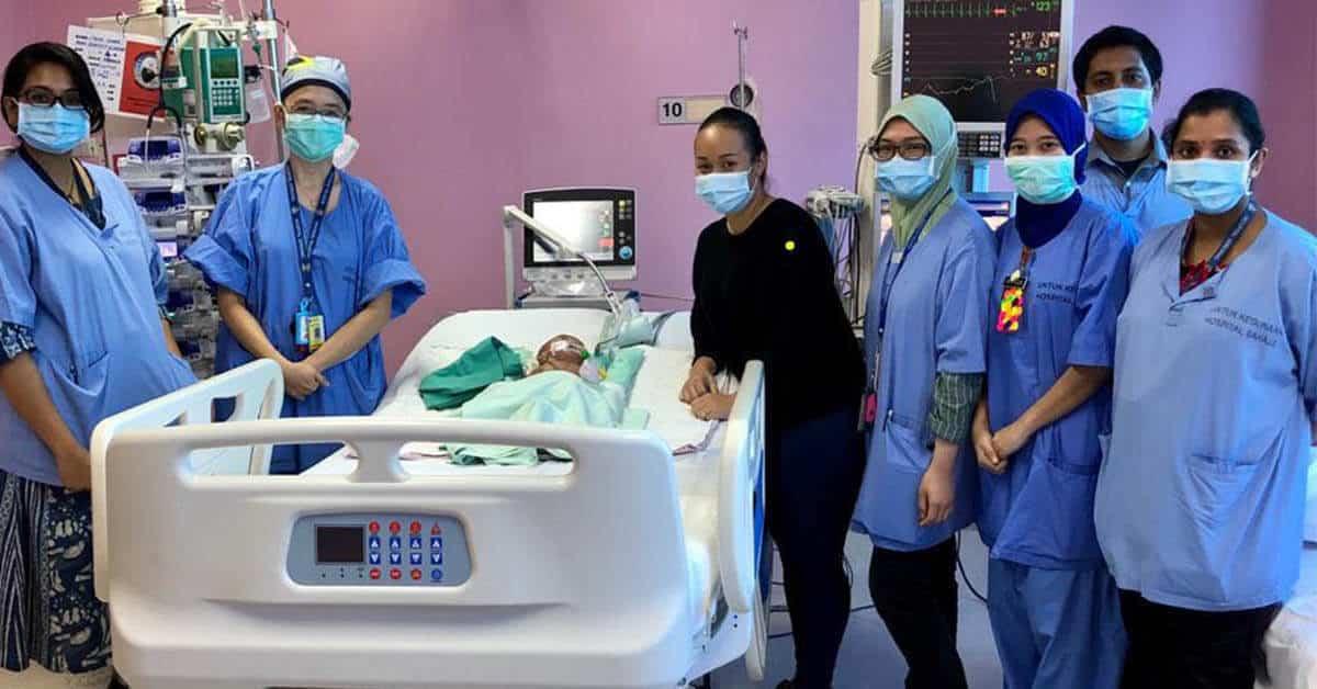 Pembedahan Atas Bayi Berjaya, DG Dr. Noor Hisham Tahniahkan Pasukan Perubatan Sarawak Dan Serdang