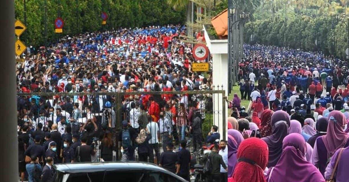 Ingkar SOP, Polis Akan Panggil Penganjur Perhimpunan Sokong Najib Di Mahkamah