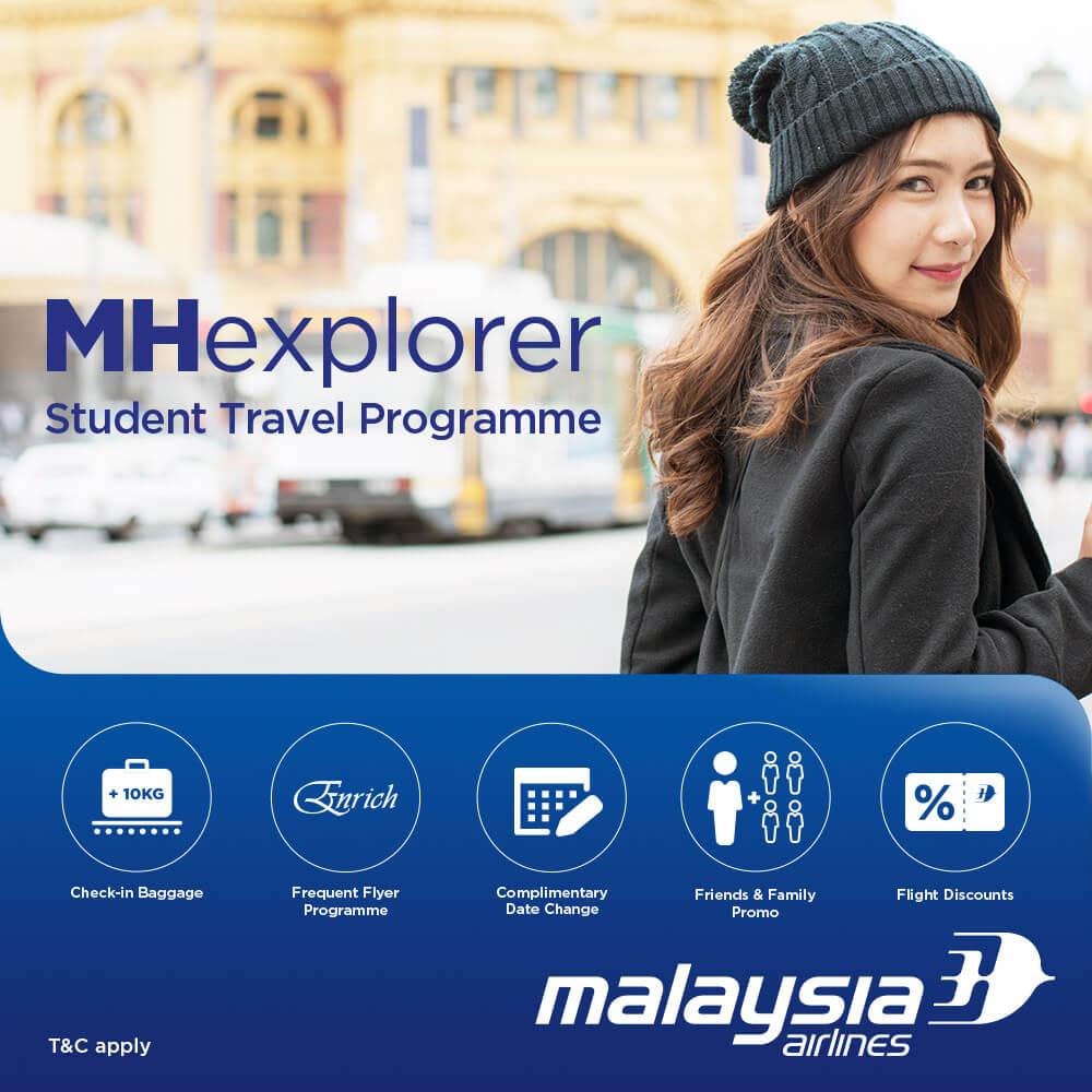 MAS Beri Diskaun 20% Tiket Penerbangan Domestik Untuk Guru, Pelajar Dan Pensyarah