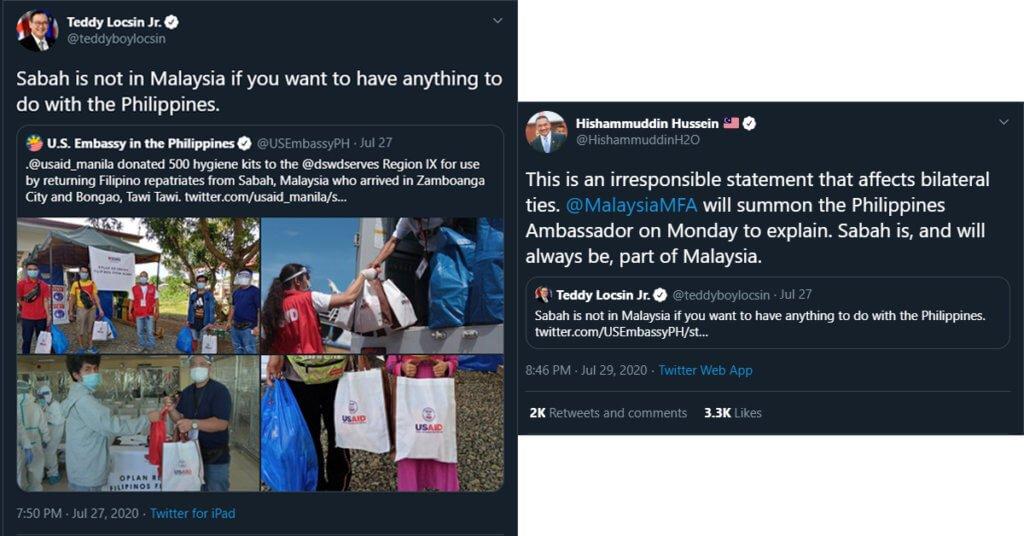 Sabah Tetap Milik Malaysia Sampai Bila-Bila - Hishammudin Tun Hussein