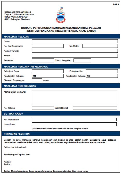 Ini Senarai Bantuan Di Sabah Dan Sarawak Yang Boleh Anda Mohon Untuk Kemasukan Ke IPT