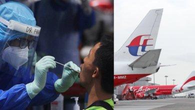 Photo of Ujian Saringan Ke Sarawak Dan Sekatan Penerbangan Dilanjutkan Hingga 31 Ogos