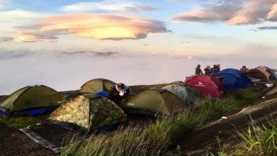 Photo of Puncak Dimie Banjaran Crocker, Lokasi Camping Atas Awan Di Sabah