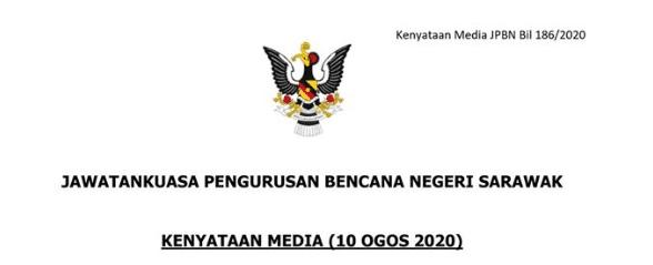 Perjalanan Antara Zon Di Sarawak Akan Dibenarkan Mulai 15 Ogos Ini
