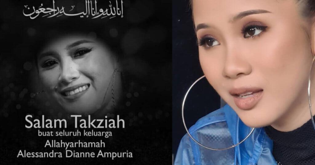 Artis Muda Sabah, Sandra Dianne Meninggal Dunia Setelah Koma 5 Hari