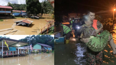 Photo of Rumah Dan Sekolah Hampir Tenggelam, Giliran Kapit Pula Dilanda Banjir Teruk