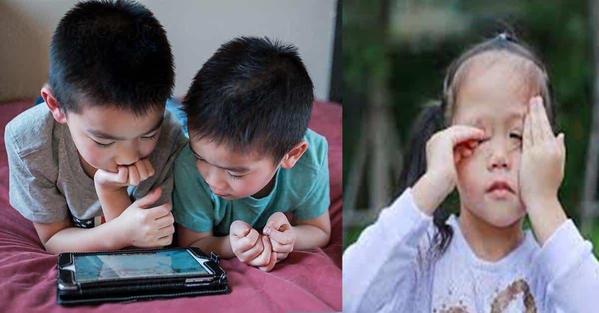 KKM Menggesa Ibu Bapa Untuk Pastikan Anak Tidak Guna Gajet Terlalu Lama