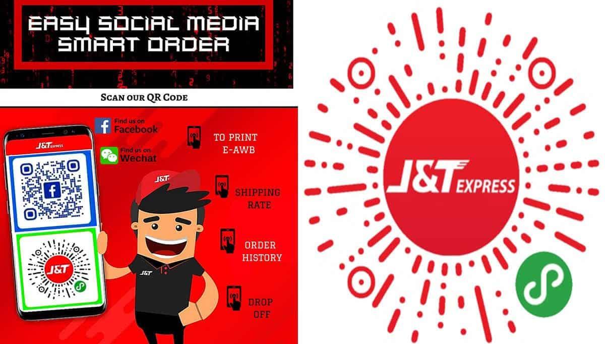Ini Adalah Cara Guna J&T SMART ORDER Untuk Mengirim Barang