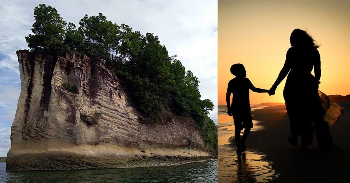 Lagenda Pulau Supirak, Sumpahan Ibu Kepada Anak Yang Merasa Malu Padanya