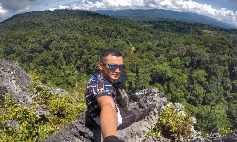 Senang Naik Tapi Susah Turun, Lelaki Ini Kongsi Pengalaman Mencabar Daki Batu Punggul Nabawan Di Sabah