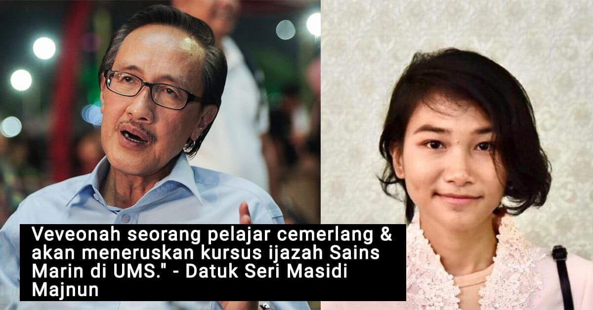 Bekas Menteri Sabah Sahkan Veveonah Duduki Peperiksaan Pada Akhir Jun