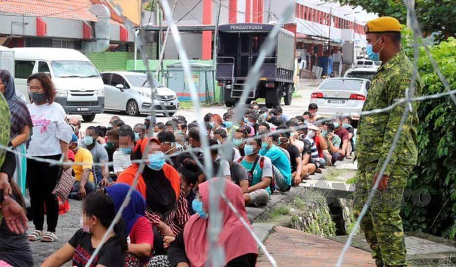 Hampir Cecah 200 Kes Positif Hari Ini, Kluster Benteng Di Sabah Jadi Penyumbang Terbesar