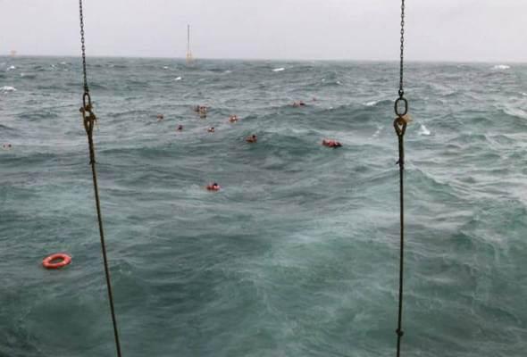 Insiden Dayang Topaz : 185 Krew Selamat, 2 Meninggal Dunia - Jabatan Laut Malaysia