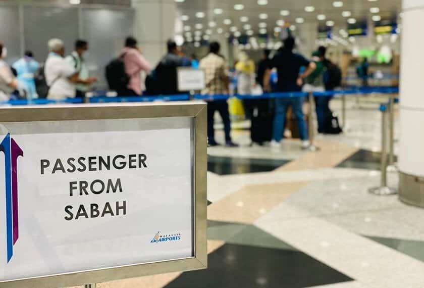 Bermula Esok Pengembara Dari Sabah Perlu Jalani Swab Test 3 Hari Sebelum Berlepas Ke Negeri Lain