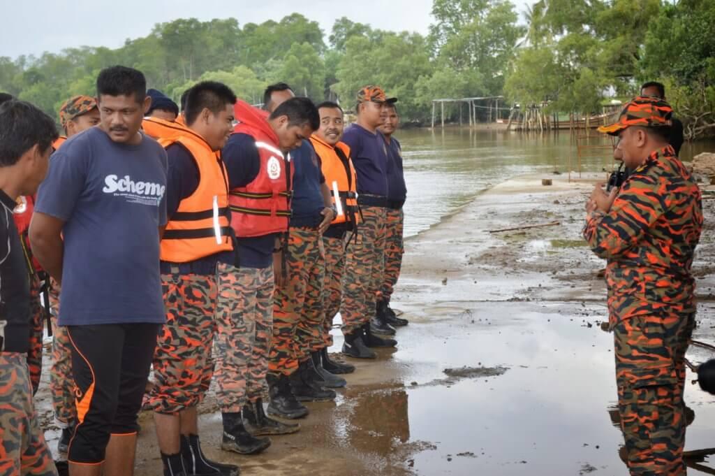 Jabatan Bomba Dan Penyelamat Sarawak Bersiap Sedia Hadapi Kemungkinan Banjir