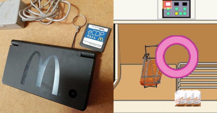 Tahukah Anda McDonald's Pernah Mengeluarkan Video Game Untuk Nintendo DS?
