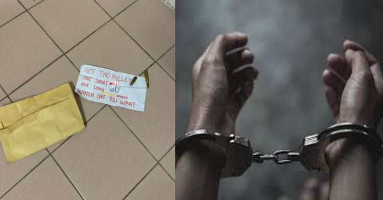 Suspek Utama Yang Didakwa Mengugut Pegawai Kastam Dengan Peluru Hidup Ditangkap Di Sibu