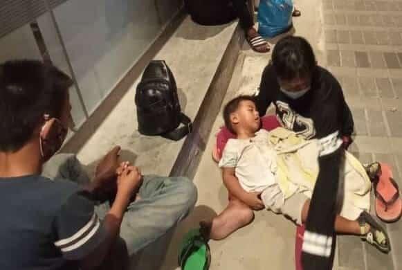 Lima Beranak Jadi Gelandangan Di Miri Kerana Ditipu Majikan Kini Diselamatkan