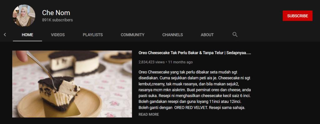 Mencari Idea Masakan Lazat, Ini 5 Youtuber Masakan Malaysia Yang Mesti Anda Tonton