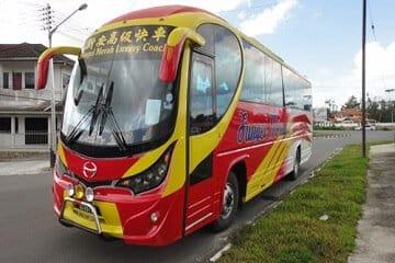Syarikat Bas Nafi Warga Indonesia Yang Disahkan Positif Menaiki Pengangkutan Sibu-Serian