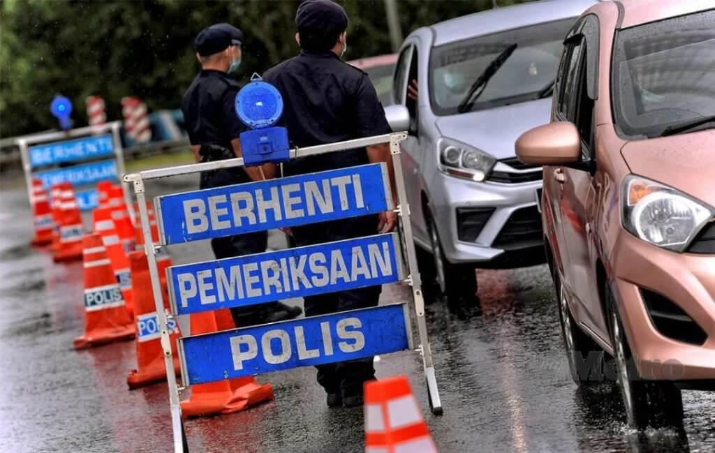 Sekatan Jalan Raya Di Daerah Kuching, Sibu Dan Miri Akan Berkuatkuasa Malam Ini