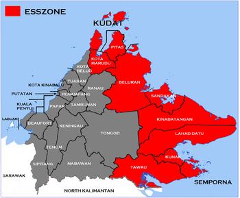 Dilarang Keluar Dari Jam 6 Petang Hingga 6 Pagi, Perintah Berkurung ESSZone Sabah Dilanjutkan