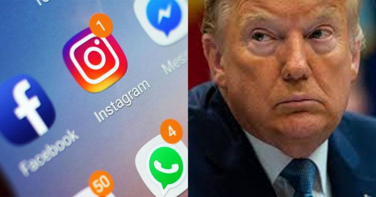 Trump Disekat Di Semua Media Sosial, Syarikat-Syarikat Besar Media Sosial Tak Dapat Tahan Lagi