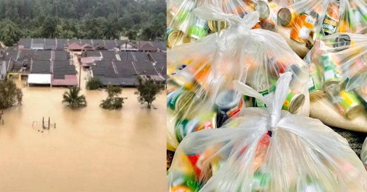 Senarai Bantuan Yang Anda Boleh Sumbangkan Untuk Membantu Mangsa Banjir
