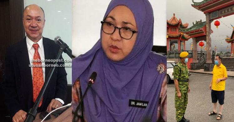 Tediri Daripada 3 Orang Pertama, Kenali Task Force Khas Tangani COVID-19 Di Sarawak