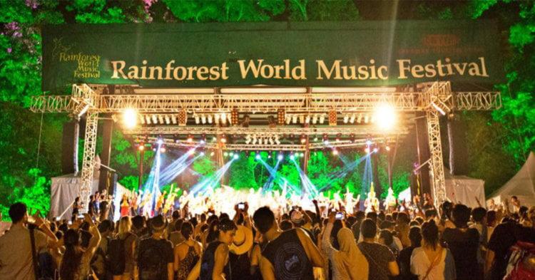 Rainforest World Music Festival 2021 Mungkin Akan Dianjur Secara Virtual