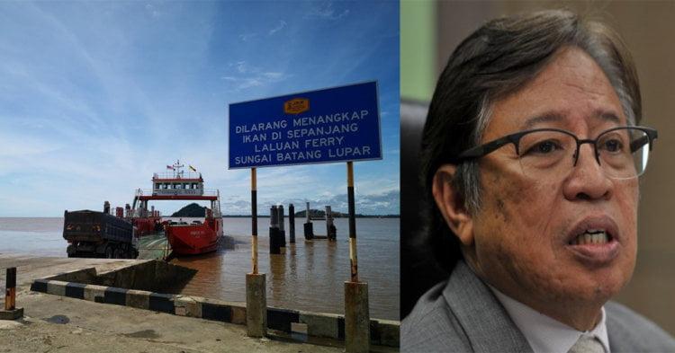 Jambatan Akan Ganti Semua Perkhidmatan Feri, Titik Feri Di Sarawak Akan Diganti