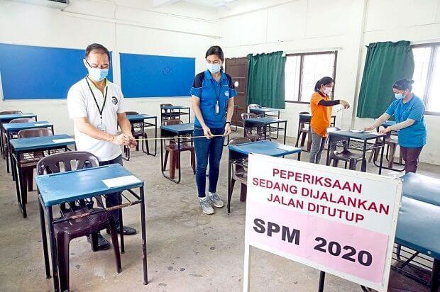 Semoga Berjaya Kepada Calon SPM 2020 Duduki Peperiksaan Dalam Norma Baharu
