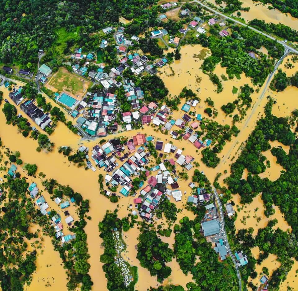 Mangsa Banjir Di Sarawak Meningkat Mendadak, Kini Cecah 985 Mangsa