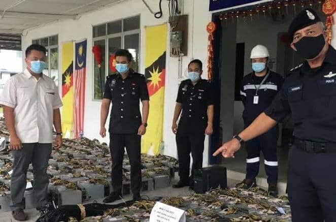 Serbuan Polis Menemukan 5 Premis Lombongan Mata Wang Kripto Terbesar Di Sarawak