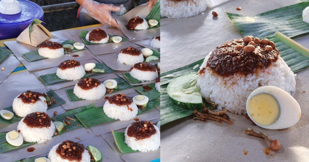 Gerai Baru Nasi Lemak Jambatan Tamparuli Di Shah Alam Beri 100 Bungkus Nasi Lemak Percuma Selama 6 Hari