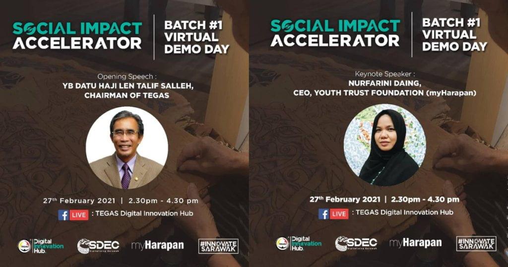 Peserta Social Impact Accelerator (SIA) Bakal Pamer Keunikan Bisnes Menerusi Virtual Demo Day Anjuran TEGAS