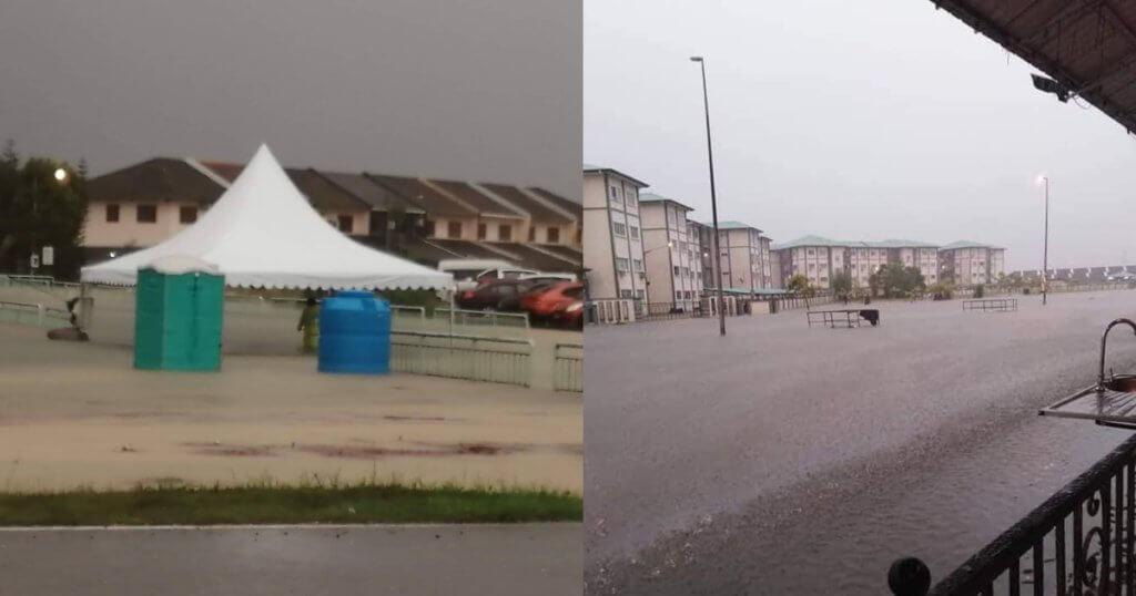 Terputus Hubungan Jalan, Kawasan Kuching, Samarahan Dan Serian Alami Banjir Teruk