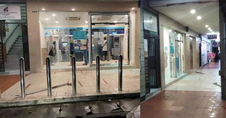 Kecoh Lelaki Pecah Pintu Kaca Bank, Dakwa Suara Halus Punca Kelakuannya