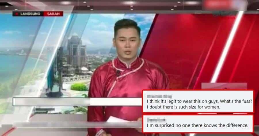 Pembaca Berita Lelaki Dikecam Kerana Didakwa Pakai Cheongsam Wanita, RTM Buka Cerita Sebenar