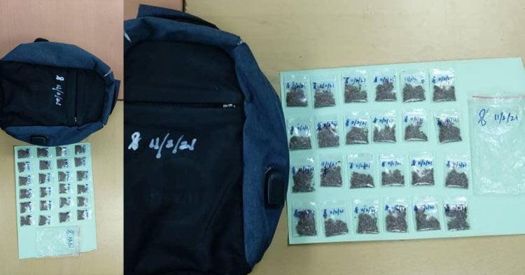 Pelajar Tingkatan 4 Di Asajaya Ditahan Miliki 24 Paket Ganja