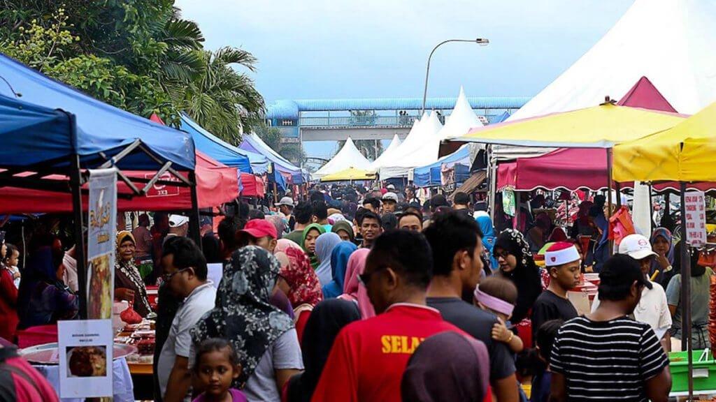 Hanya 2 Daripada Satu Keluarga Sahaja Dibenarkan Berkunjung Ke Bazaar Ramadhan