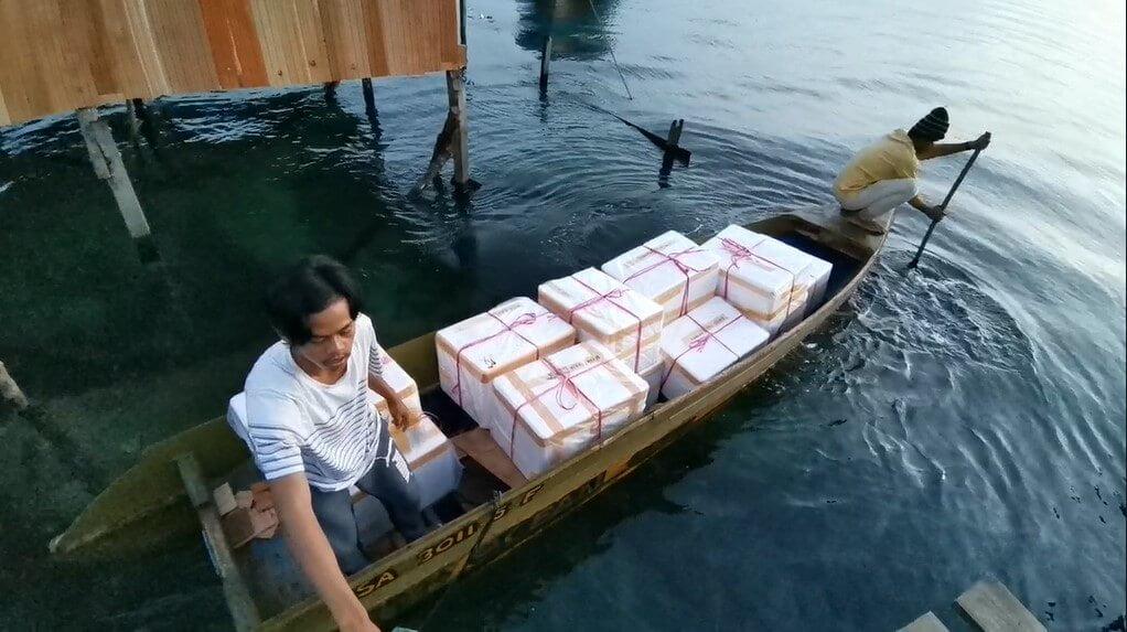 Kurang 24 Jam, Perniagaan Sosial Ini Pastikan Hasil Laut Segar Sabah Sampai Depan Pintu Rumah Anda