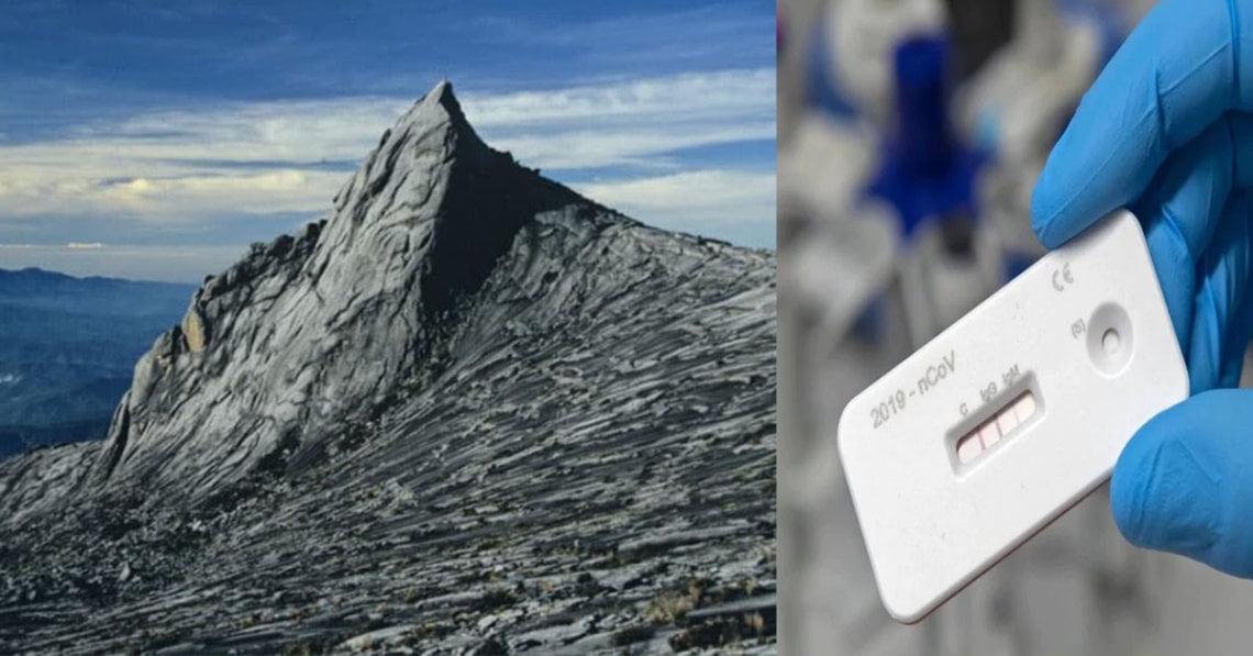 Pendakian Gunung Kinabalu Akan Dibuka Bermula 5 Mac 2021, Swab Test 3 Hari Sebelum Tarikh Pendakian Dikehendaki