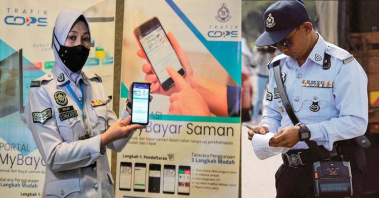 Diskaun 50% Hingga 11 April 2021 Untuk Saman Yang Dibayar Dalam Talian Menerusi 'MyBayar Saman'