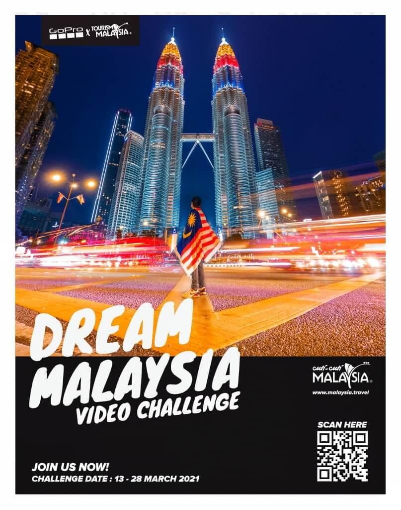 Serlahkan Kreativiti Anda Dalam Peraduan Dream Malaysia Challenge Dan Menangi GoPro Hero 9